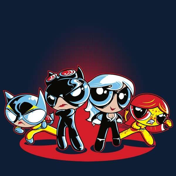 Batman Villains Powerpuff Girls Style