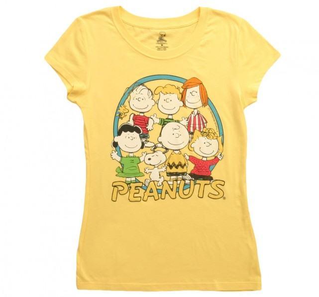 womens snoopy peanuts t shirt the shirt list. Black Bedroom Furniture Sets. Home Design Ideas