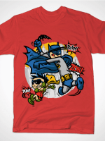 DICK AND BRUCE Red T-Shirt