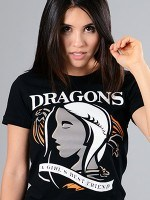 Dragons Are A Girl's Best Friend T-Shirt