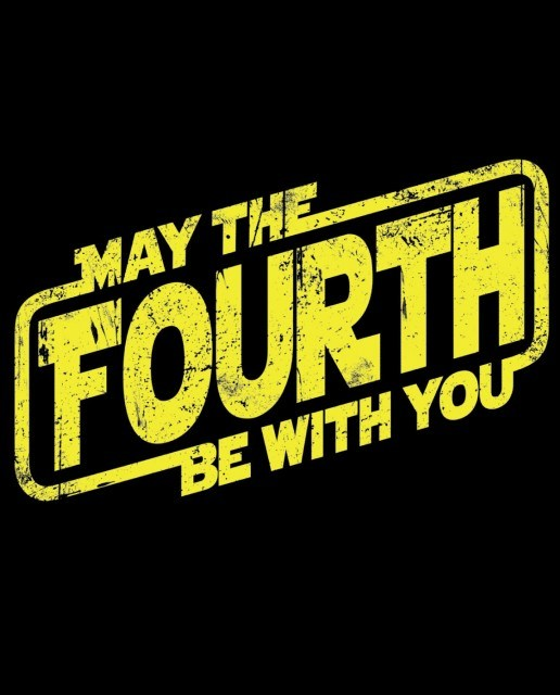 May The 4th Be With You And Also With You: MAY THE FOURTH BE WITH YOU T-Shirt