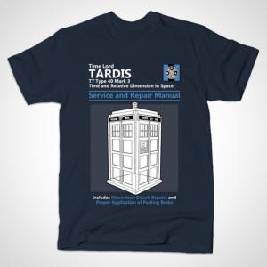 TARDIS SERVICE AND REPAIR MANUAL