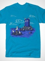 Seagulls Have the Phone Box T-Shirt