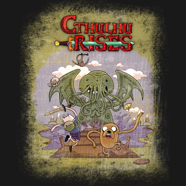 CTHULHU RISES - ADVENTURE TIME