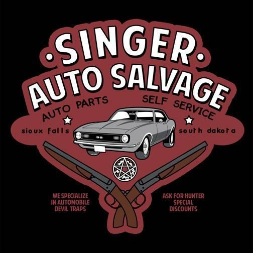 Singer Auto Salvage T-Shirt