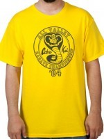Yellow 84 All Valley Karate Championship T-Shirt