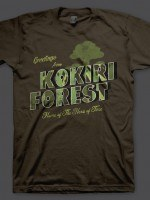 Greeting From Kokiri Forest T-Shirt