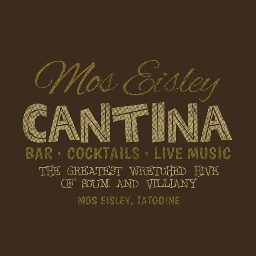 mos eisley cantina t shirt the shirt list