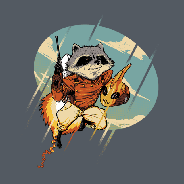 ROCKET RACCOON-A-TEER