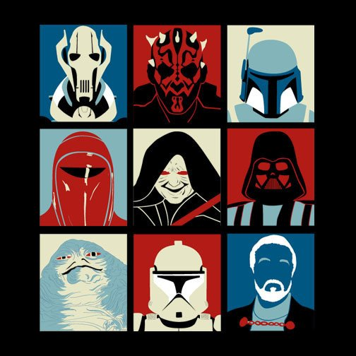 The Gallery For Star Wars Pop Art