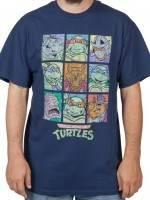Characters TMNT T-Shirt