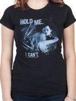 Ladies Hold Me Edward Scissorhands T-Shirt