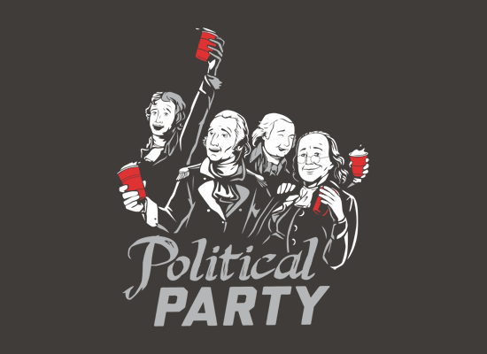 Political Party T-Shirt - The Shirt List