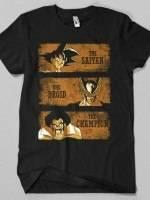 The Saiyan, The Droid & The Champion T-Shirt