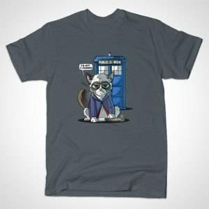 GRUMPY DOCTOR CAT