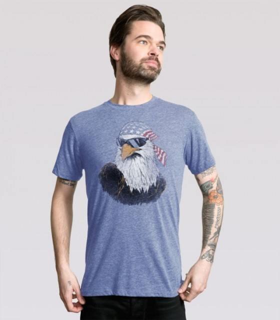 42a23f675db Patriotic Eagle T-Shirt by Headline Shirts - The Shirt List