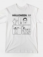 HALLOWEEN INSTRUCTIONS T-Shirt