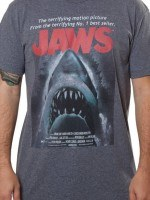 Jaws Poster T-Shirt