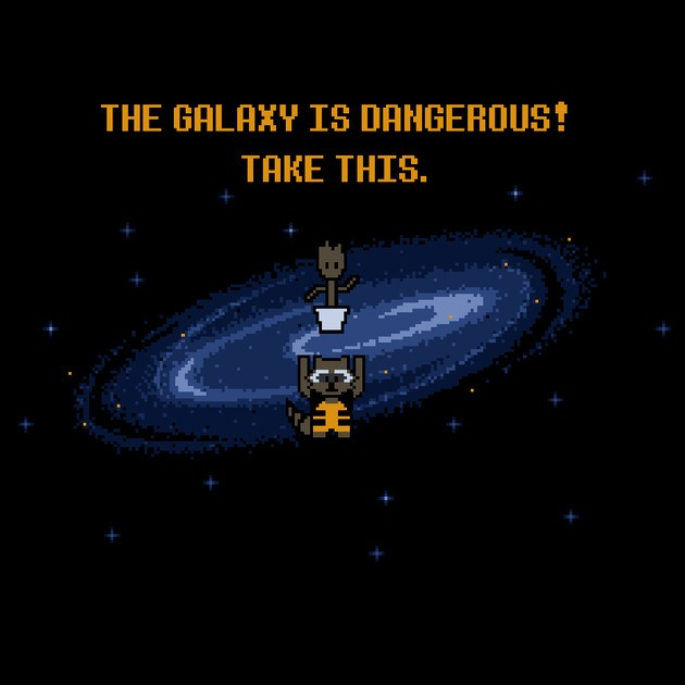 THE GALAXY IS DANGEROUS