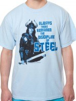 The Discipline Of Steel Conan T-Shirt