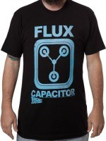 Black Flux Capacitor T-Shirt