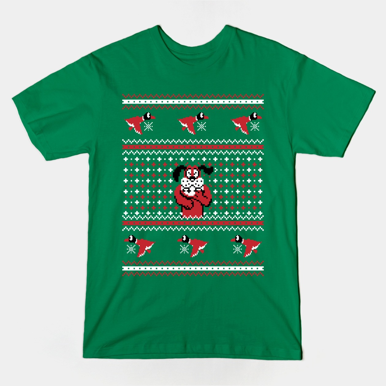 Scavenger Hunt List >> FESTIVE DUCK HUNT T-Shirt - The Shirt List