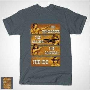 THE RINGLEADER, THE ARCHER, THE SAMURAI & THE KID