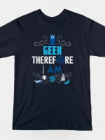 WHO'S GEEKY? T-Shirt