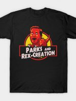 Jurassic Parks and Rex Creation T-Shirt