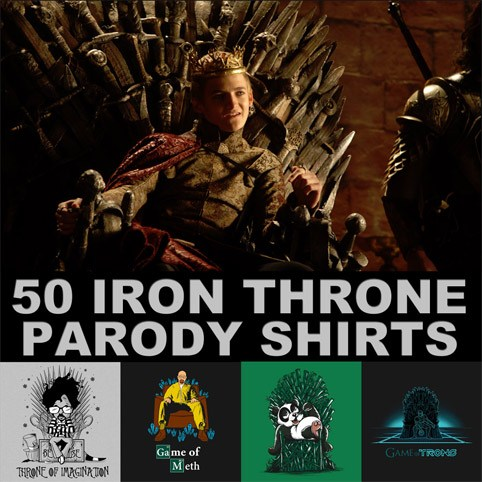 Iron Throne T-Shirts Banner