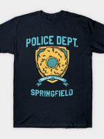 Police Dept. of Springfield T-Shirt