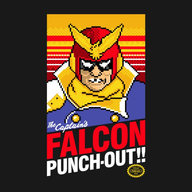 Falcon punch out t shirt the shirt list for What is a punch out list