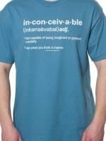 Inconceivable Definition Princess Bride T-Shirt