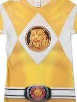 Ladies Yellow Ranger Sublimation T-Shirt