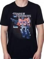 Box Art Optimus Prime T-Shirt
