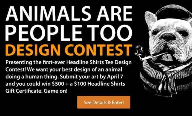 Headline Shirts T-Shirt Design Contest