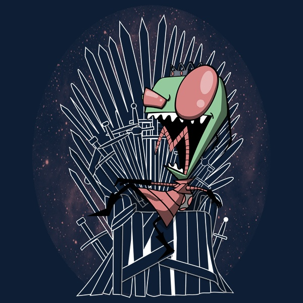 Throne invaded