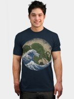 Hokusai Cthulhu T-Shirt