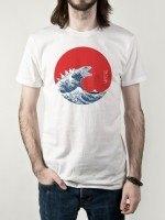 Hokusai Gojira T-Shirt