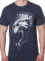 Motion Kick Bruce Lee T-Shirt