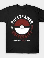 Poketrainer University T-Shirt