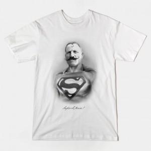 SUPERB MAN! VINTAGE SUPERHERO