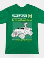 WARTHOG SERVICE AND REPAIR MANUAL T-Shirt