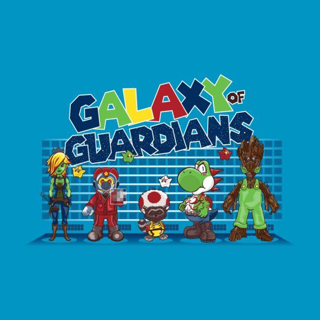 GALAXY OF MARIO GUARDIANS