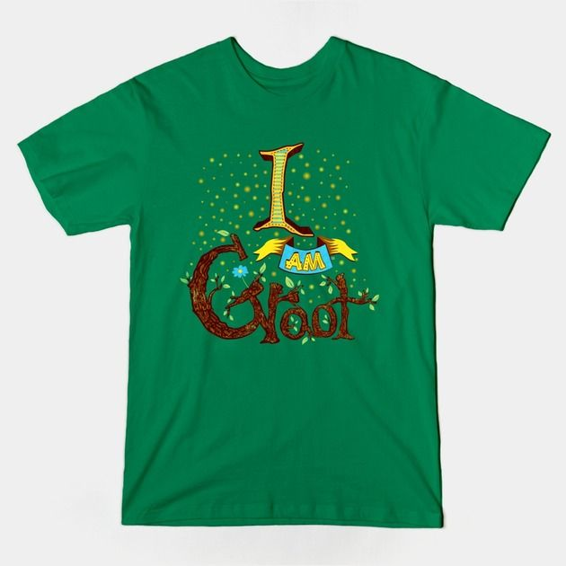 I Am Groot T Shirt I AM GROOT T-Shirt - T...