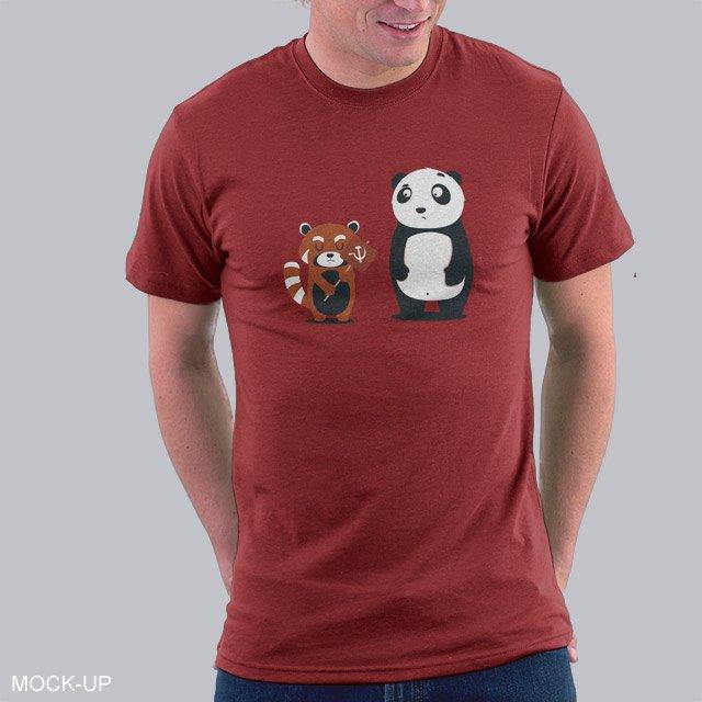 red panda t shirt the shirt list. Black Bedroom Furniture Sets. Home Design Ideas