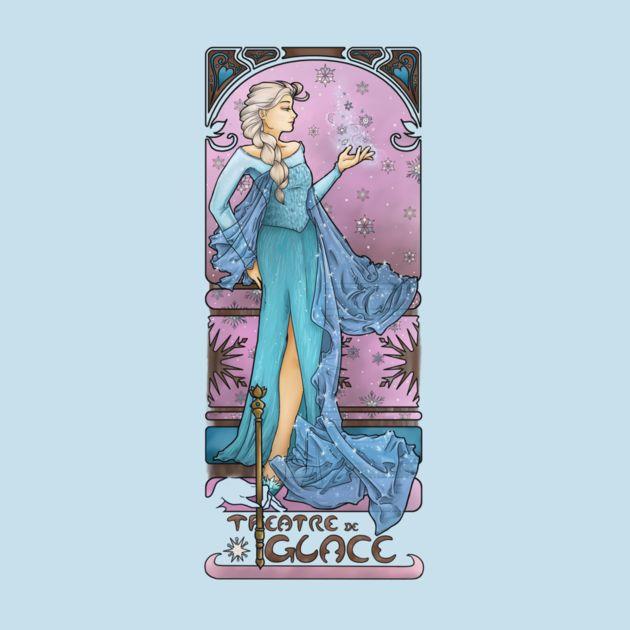 THE LADY OF ICE (LA DAME DE GLACE)