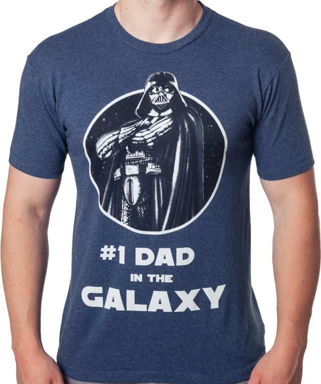 #1 Dad in the Galaxy Star Wars