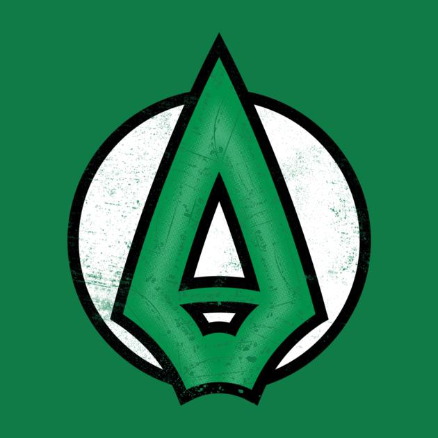 Arch Formula T-Shirt - The Shirt List Green Arrow Superhero Logo