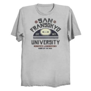 San Fransokyo University T-Shirt